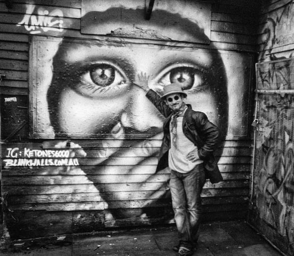 Graffite painter by brendish
