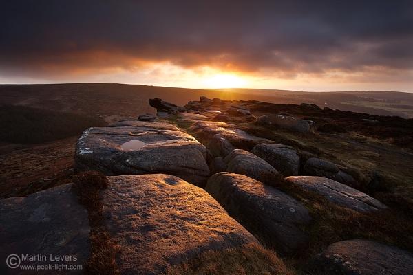 Hillfort Dawn by martinl