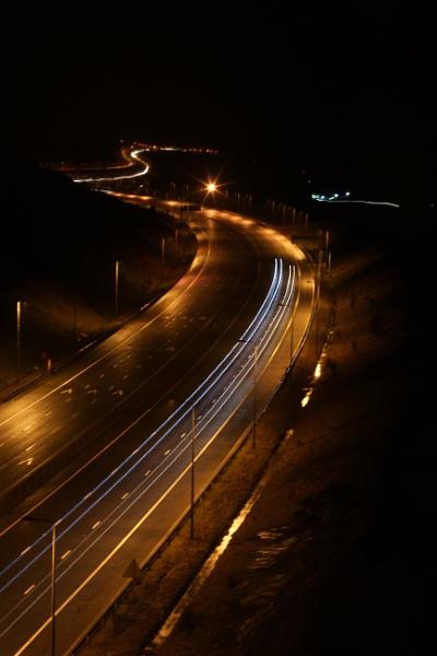 Midnight Motorway by AndyBeattie