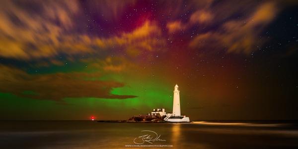 Aurora Borealis, St Mary\'s Island by JGRobinson