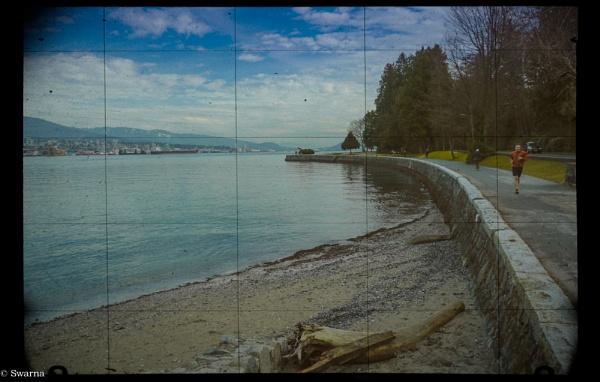 Seawall - Stanley Park, Vancouver BC by Swarnadip