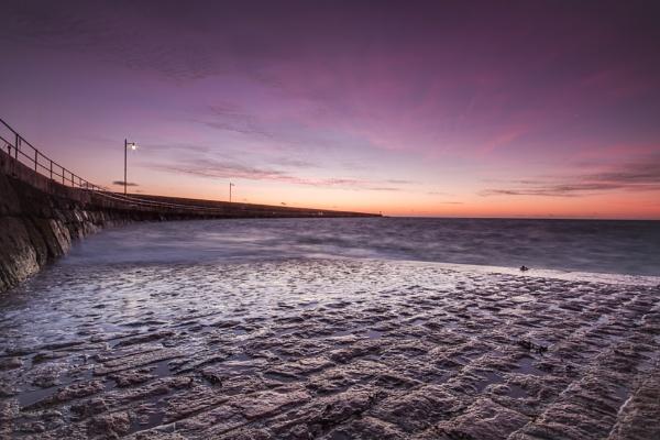 Breakwater Sunrise by happysnapper