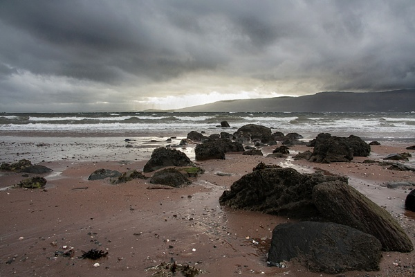 Storm on the Firth of Clyde by Irishkate