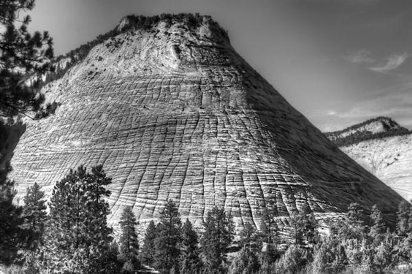 Checker Board Mesa - Zion National Park - Nevada by Migster