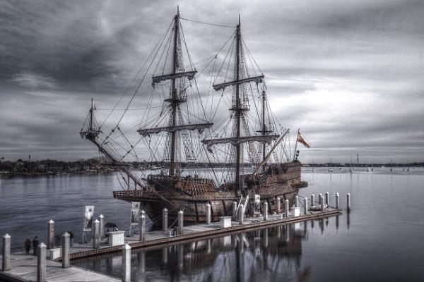 Spanish Galleon by DBoardman