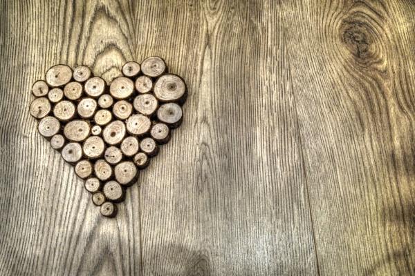 Wooden Heart by mark2uk