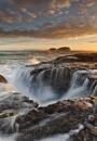 Ballintoy Sunrise by garymcparland