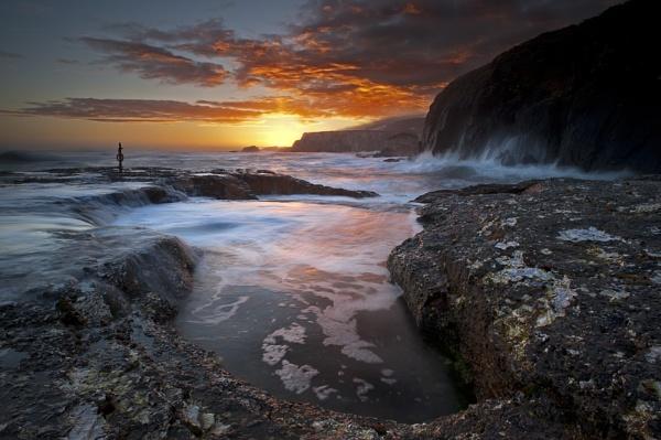 Ballintoy Sunrise. by bombolini