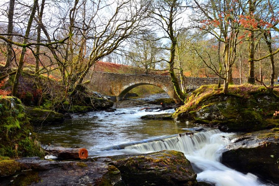 East Side Of Loch Earn,Scotland