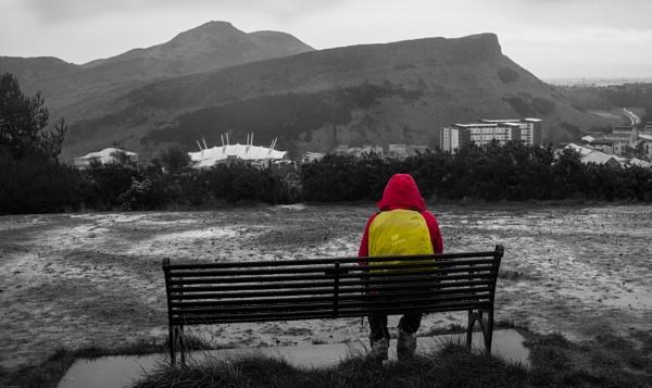 A dreich day on Calton Hill. by mediaman