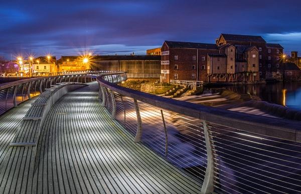 Castleford Footbridge by Philo