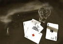 Death of a Gambling Cowboy by TONKSPHOTO