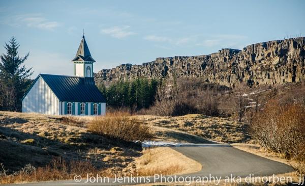 Church at Thingvellir, Iceland by JohnJenkins99
