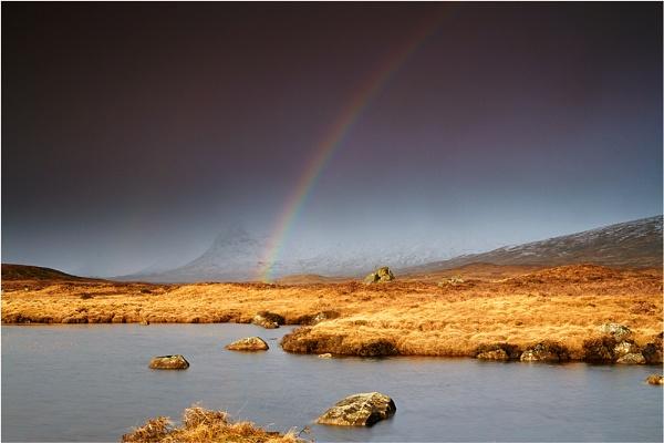 Rannoch Rainbow by jeanie