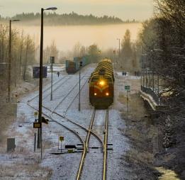 Nummela railwaystation.