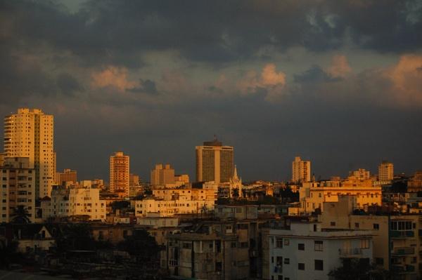 Havana skyline by Putnam