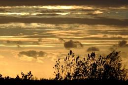 Sunset at Bletchingdon, West Oxfordshire