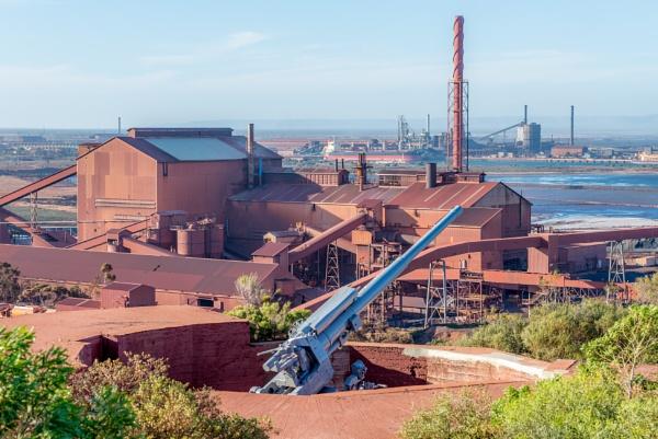 Industrial steelworks. by JimiLewis