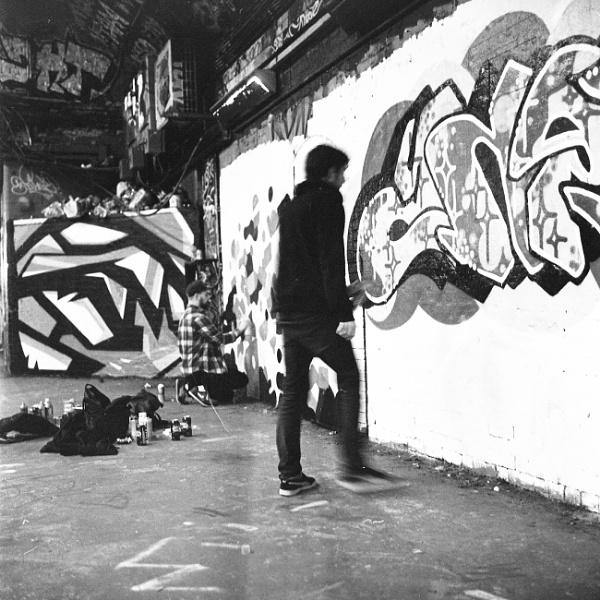 Street Artist by RupertHitchcoxLRPS