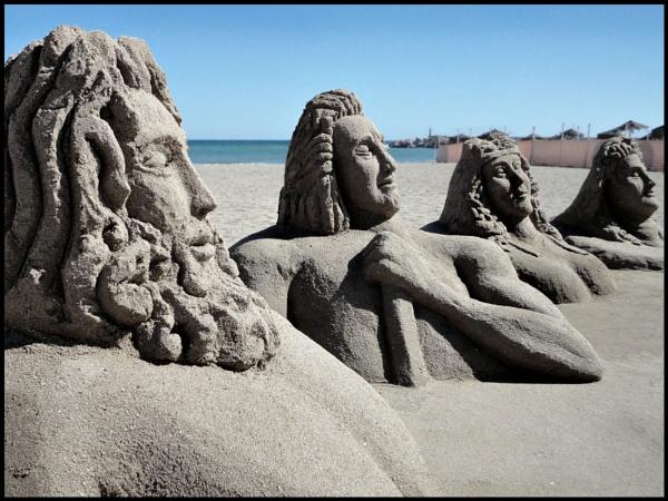 Siesta of the Gods. by Tramper