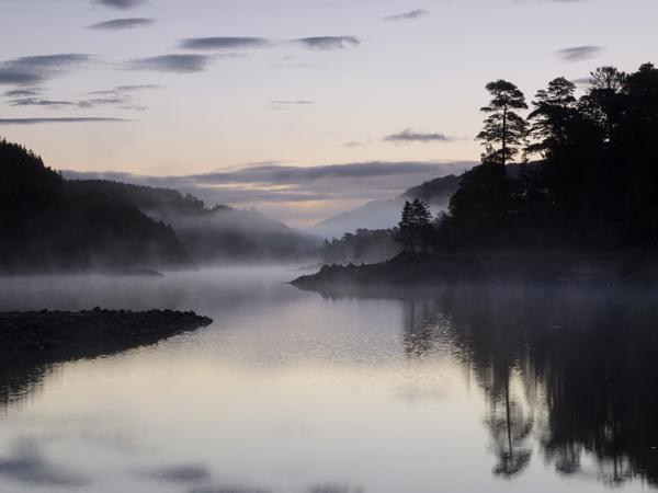 Misty Sunrise by iainmacd