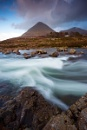 Glamaig from Sligachan by Skinz