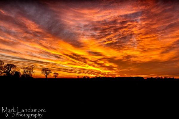 Sky on Fire by mlanda