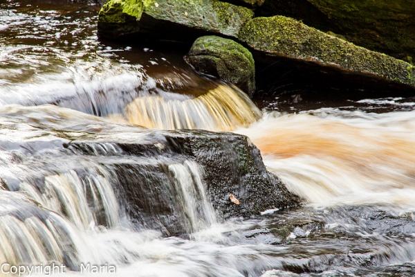 Waterfall by MariaElaine
