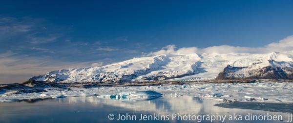 Jokulsarlon Lagoon, Iceland by JohnJenkins99