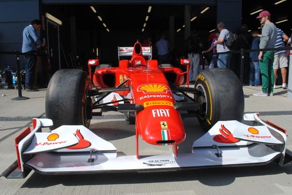 Ferrari at Silverstone by DaveHoskins