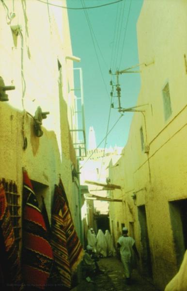 "Algeria: 3. Ghardaia street, M\""Zab region by gss"