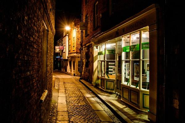 York street at Night by Neil_Jackson