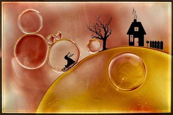 Boy in a bubble by Willpower