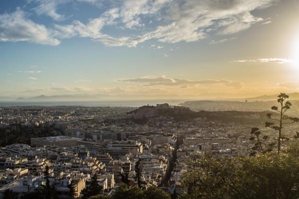 Athens - Landscape by derrymaine