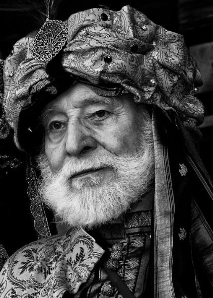 Venice Carnivale Man without a mask by robertjhook
