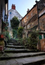 Steps up - Robin Hood's Bay