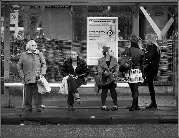 Ladies in Waiting by Coast