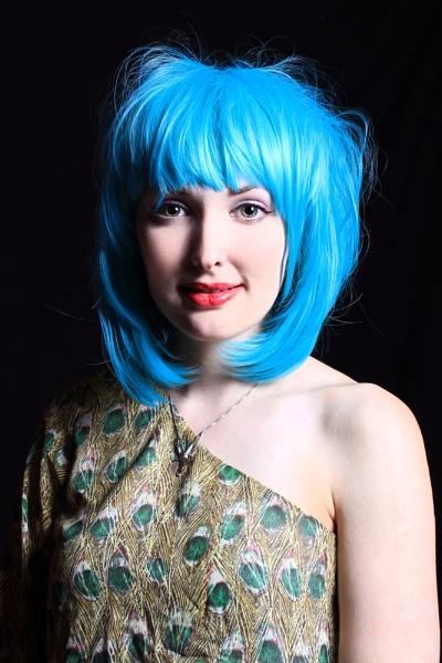 Kathryn feeling blue by matrix45