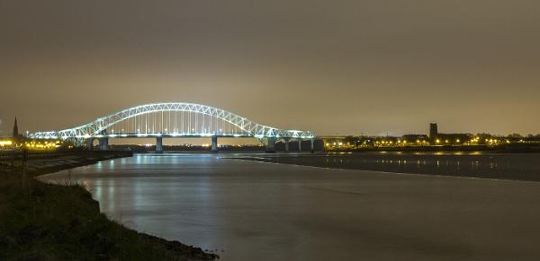 Runcorn Bridge by Philpot