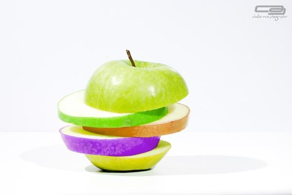 Colorful Apple by clausaresu