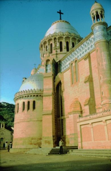 Algeria: 13 Algiers - Basilica Notre-Dame d\'Afrique by gss