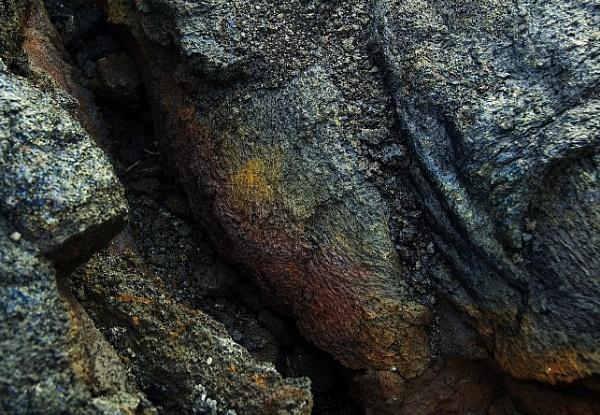 Volcanic rocks by fox28