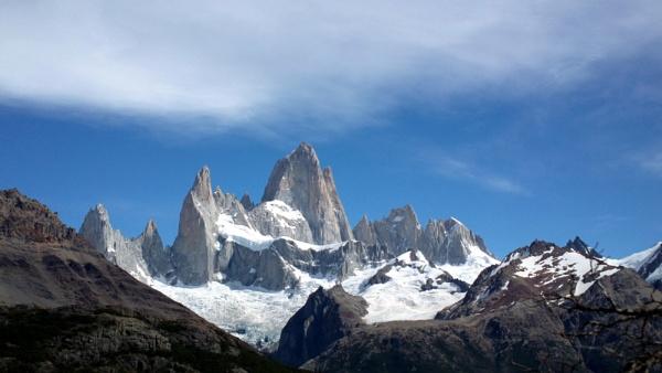Fitzroy Mountain Chalten Argentina. by paulashby