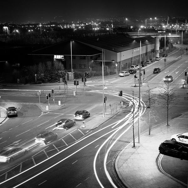 Belfast Car Lights by GeorgeBuchan