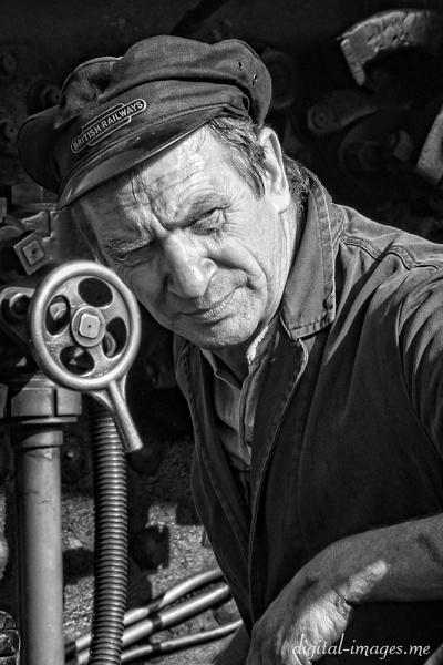 Railwayman by Alan_Baseley