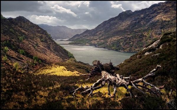 Loch Hourn by Niknut