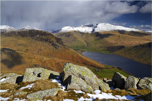 Towards the Scafells by jeanie
