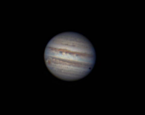 Webcam Jupiter (transit) by Aenima
