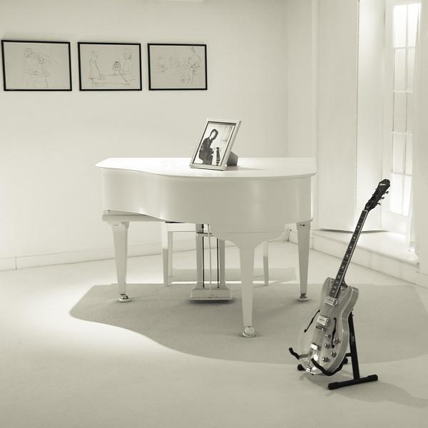 The music room by Boleskine