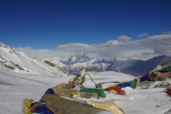 Thorung La Pass, Nepal by Ray12